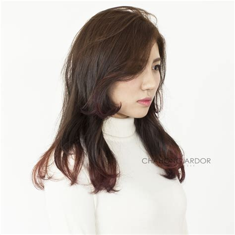 haircut korean actress korean layered haircut hairs picture gallery