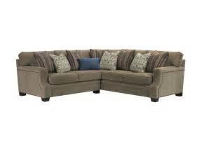broyhill living room 3671 sectional burke furniture inc