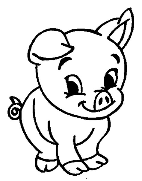 funny creature 26 pig coloring pages for kids print coloring picture of animals for kids