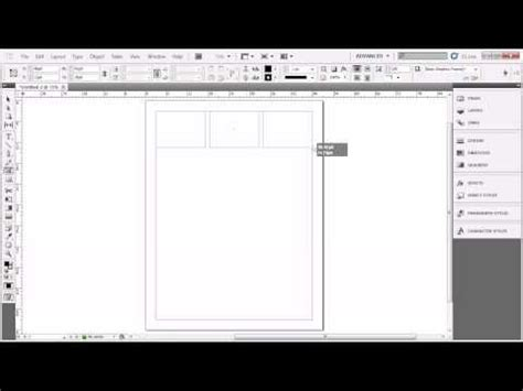 indesign layout adjustment create a bunch of frames easily and adjust gap size