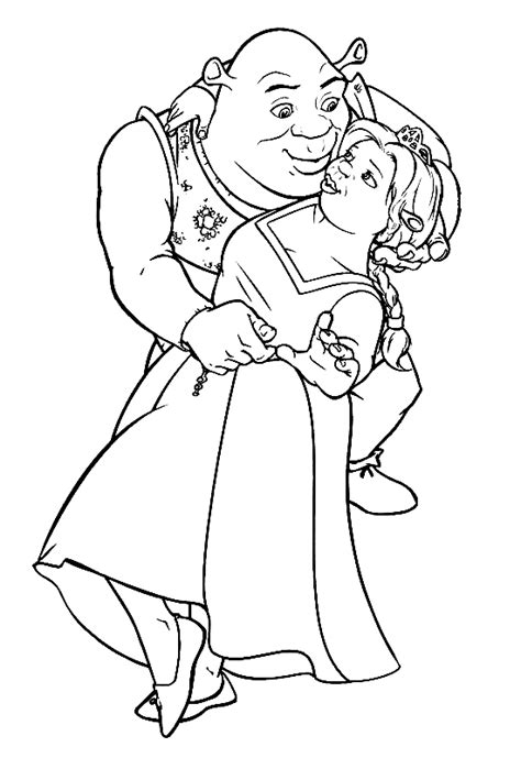 shrek coloring pages games kids world educational blog for kids coloring pages