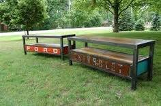 ford bar stools canadian tire pub table diy pub table bar table recycled home decor