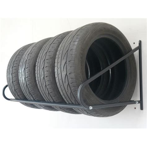 Tire Rack For Garage by Garage Tire Storage Folding Wall Mount Tyre Rack Storage