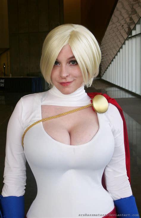 big boobs in batman low cut top busty shots drunk tiki 187 blog archive 187 power girl powergirl comic con
