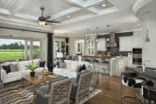 Asheville Model Home Interior Design 1264f Traditional Kitchen