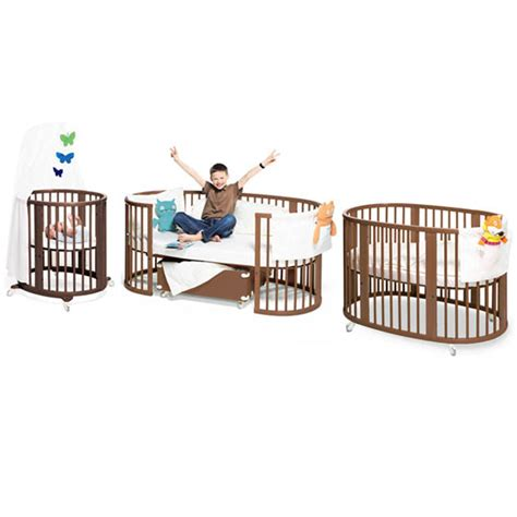 convertible bassinet to crib 10 cool and functional cribs for your baby design swan
