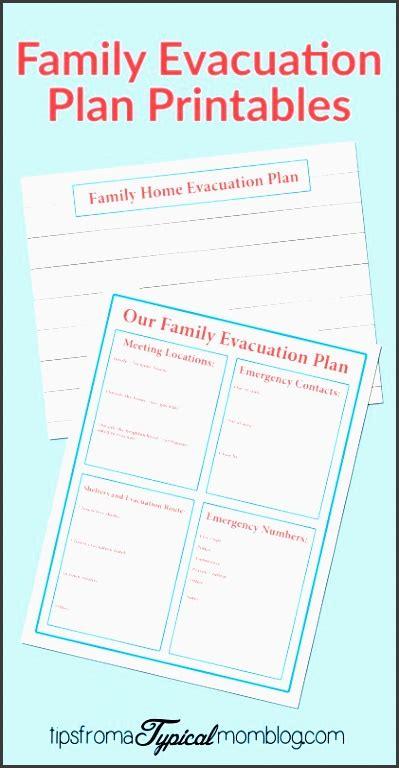 5 Family Emergency Plan For Free Sletemplatess Sletemplatess Family Evacuation Plan Template