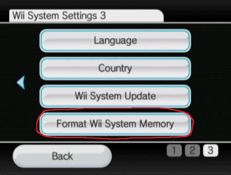 format video wii nintendo wii resetting a wii to factory settings arqade