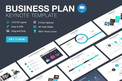 keynote business plan template 25 modern premium keynote templates design shack