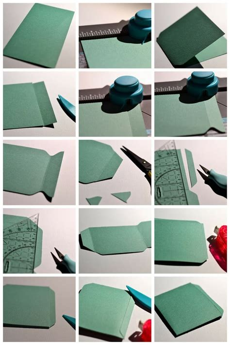 How To Make A Pocket Out Of Paper - 25 best ideas about library pockets on