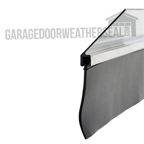 garage door edge seal garage door retainer 2 inch 45 degree garage door weather seal