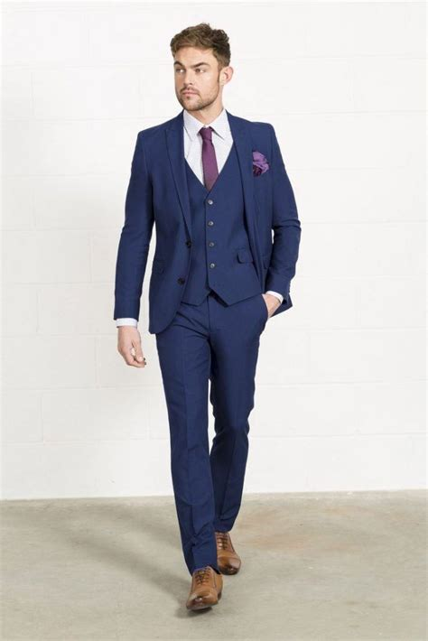20 ways to wear blue suits with brown shoes ideas for