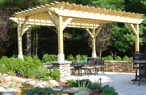 shade structures for backyards pergola and patio cover kingston ma photo gallery