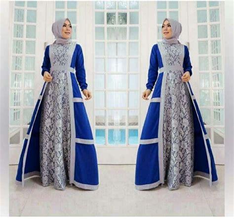 Baju Dress Wanita Mayra Dress baju gamis warna biru newdirections us