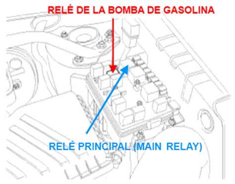 como se llama el fusible de la bomba de gasolina rel 233 de la bomba de gasolina del kia sportage