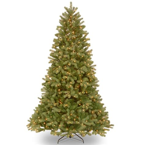 5 or 6ft real feel christmas trees at bargain prices national tree company 6 5 ft feel real 174 downswept douglas fir tree with clear lights