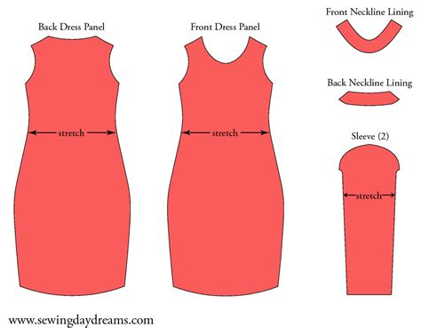 pattern simple sheath dress diy the long sleeve sheath dress tutorial sewing daydreams