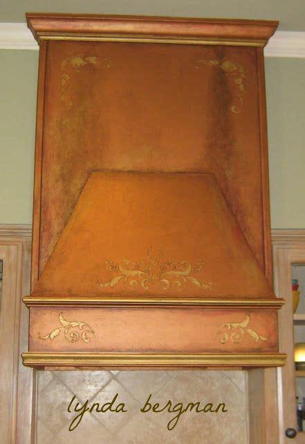 lynda bergman decorative artisan painting a special aging 56 best copper range hoods images on pinterest kitchen