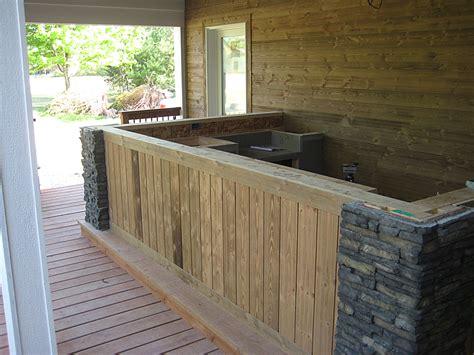 Outdoor Kitchen Countertops Granite Outdoor Kitchen Countertop W 3 8 Radius Top Bottom Edge Crafted Countertops