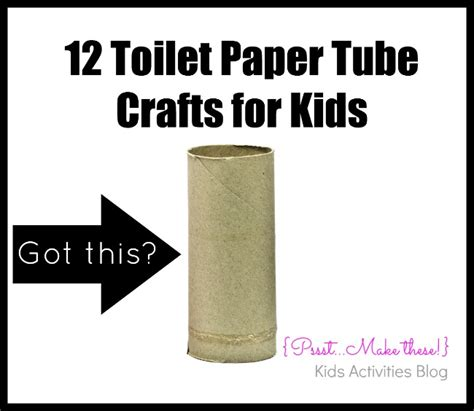 Crafts Using Toilet Paper - simply 12 toilet paper activities and