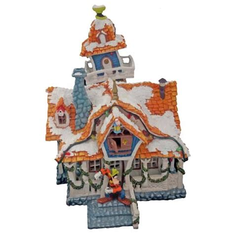 Disney Official Minnie Toontown House Ceramic - your wdw store disney figurine mickey s toontown