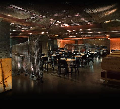 Japanese Restaurant Room Nyc Entire Mezzanine Dining Room Interior Design Of Nobu Fifty
