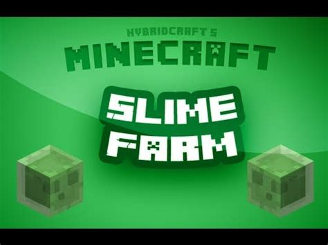 slime farm tutorial skyblock minecraft tutorial slime farm youtube