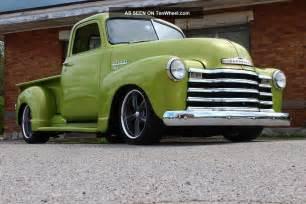 1949 chevy truck rat rod streetrod 49 50 51 52 53