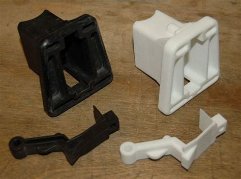 3d printed desk toys s brompton front carrier block 3d printed mechanical
