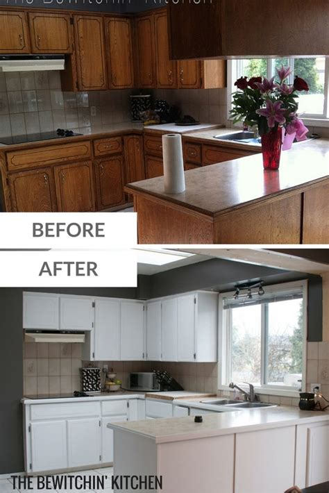transforming kitchen cabinets painting kitchen cabinets transforming dated 1970s oak