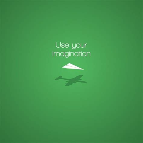 green wallpaper with quotes use your imagination minimal wallpaper with quote in
