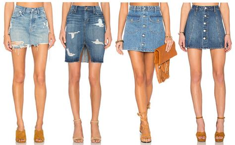 20 denim mini skirts for summer 2016 the