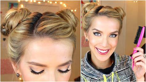 mini buns mini buns hair tutorial easy qtiny