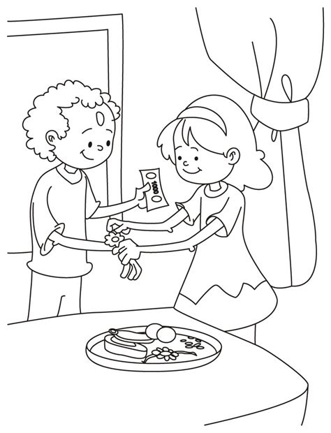 raksha bandhan coloring pages coloring pages part 2