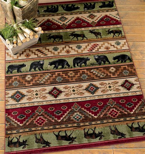 Lodge Rugs by Image Gallery Lodge Rugs