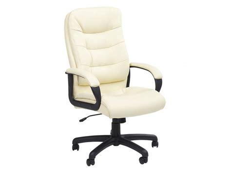 fauteuil de bureau blanc ivoire achat en ligne