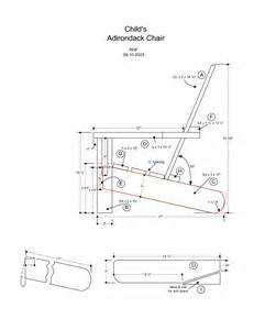 adirondack chair templates free adirondack chair template