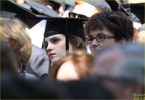 emma watson university emma watson graduates from brown university see the pics