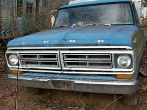1972 Ford F100 Parts 600 1972 Ford F100 Shortbed For Sale In Woodlawn