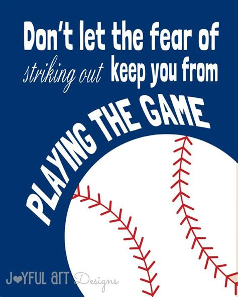printable baseball quotes set of 3 motivating sports quotes printable signs