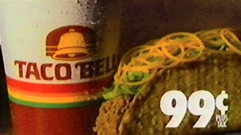 Taco Bell Make That Tacostada Bell Reopens In Mexico by 1988 Commercial Taco Bell Has Your Order Make A Run