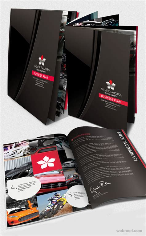 corporate layout inspiration 50 creative corporate brochure design ideas for your