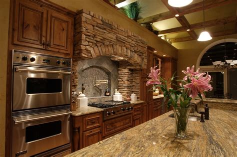 Kitchen Islands Houzz by Rustic Elegant Kitchen Rustic Kitchen