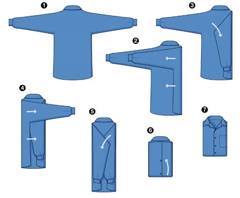 how to a like a service fold your shirt like professional laundry service