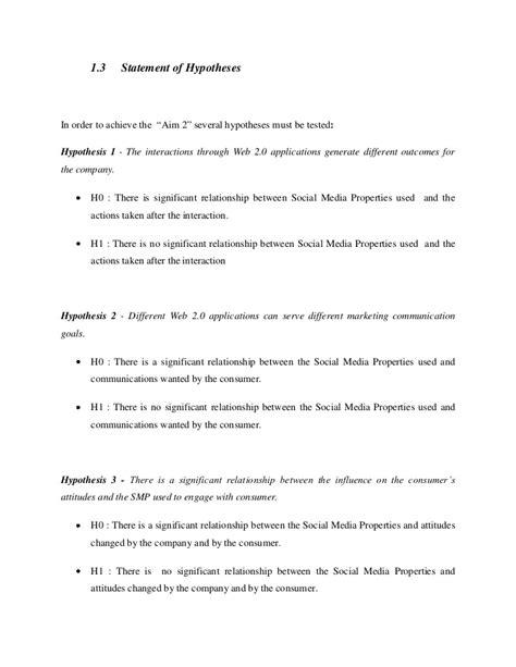 dissertation hypothesis dissertation hypothesis statement