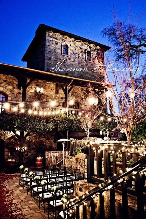 Napa and Sonoma Wedding Venues   My Wedding Ideas   Pinterest