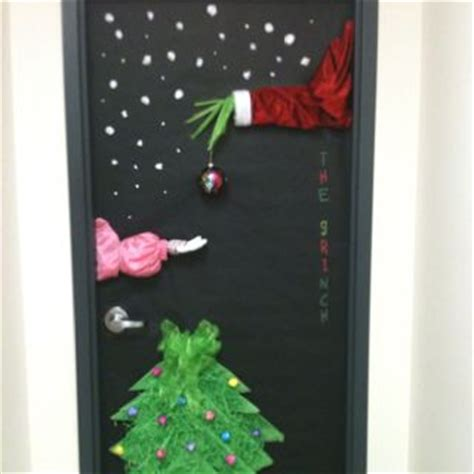 how the grinch stole door decorating ideas 1000 ideas about door decorations on