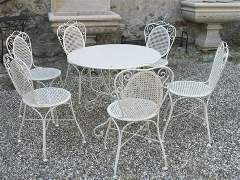Vintage Wrought Iron Patio Furniture Sets Furniture Wrought Iron Patio Furniture Vintage