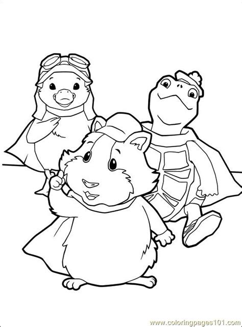 coloring pages wonder pets coloring pages wonder pets 014 1 cartoons gt the wonder