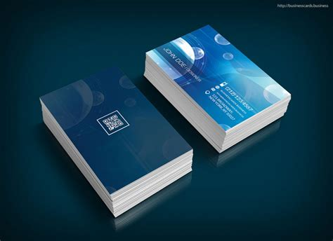 Free Technology Business Card Template Business Cards Templates Tech Business Card Template